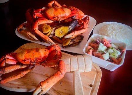 Cangrejos criollos - gastronomía costa ecuatoriana