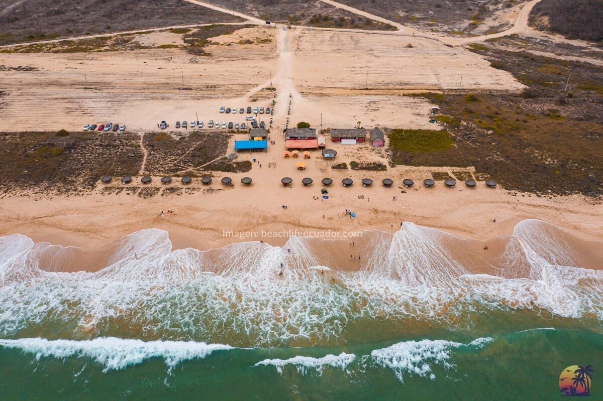 Como llegar Playa Rosada Ecuador