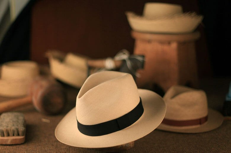 Sombreros de Montecristi