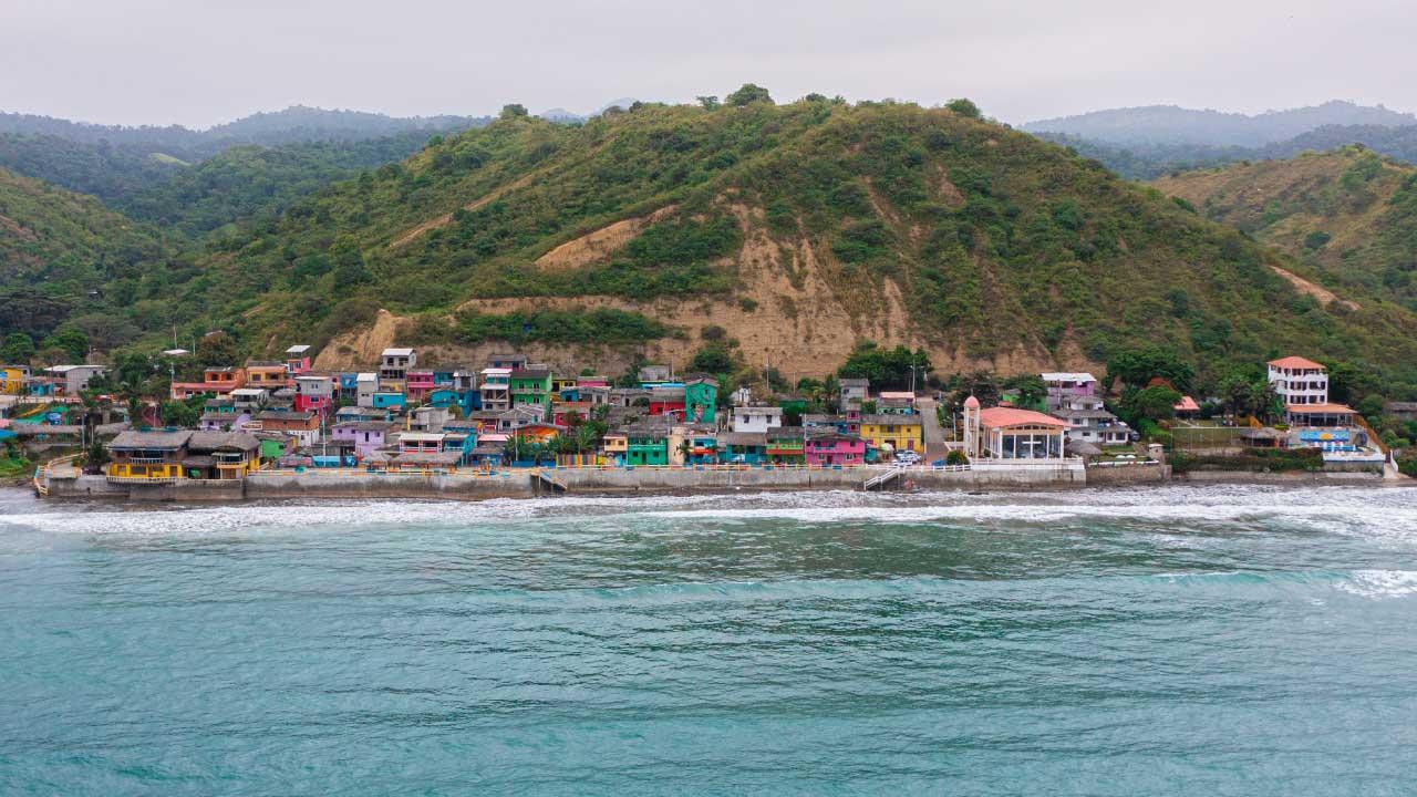 Playa La Entrada Santa Elena