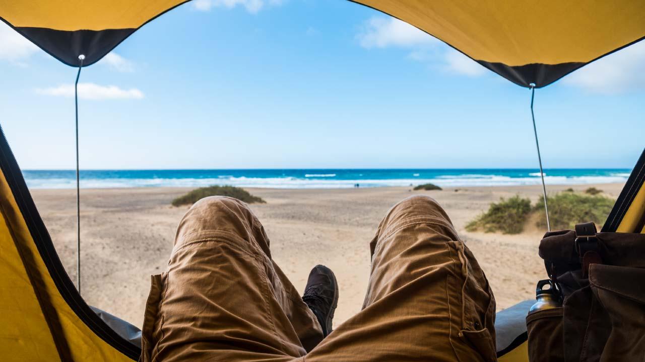 playas para acampar en Ecuador