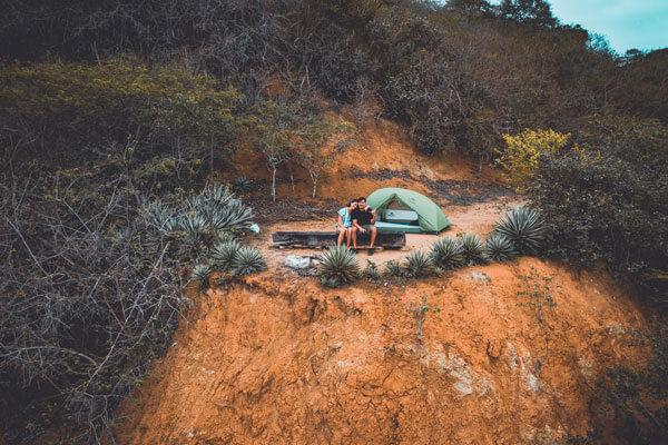 Salango playas para acampar en Ecuador