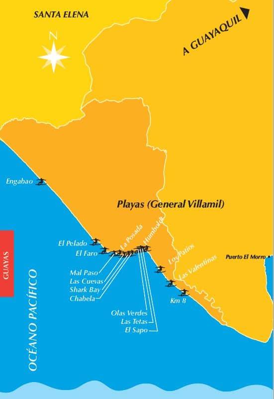 Ruta del Surf Guayas