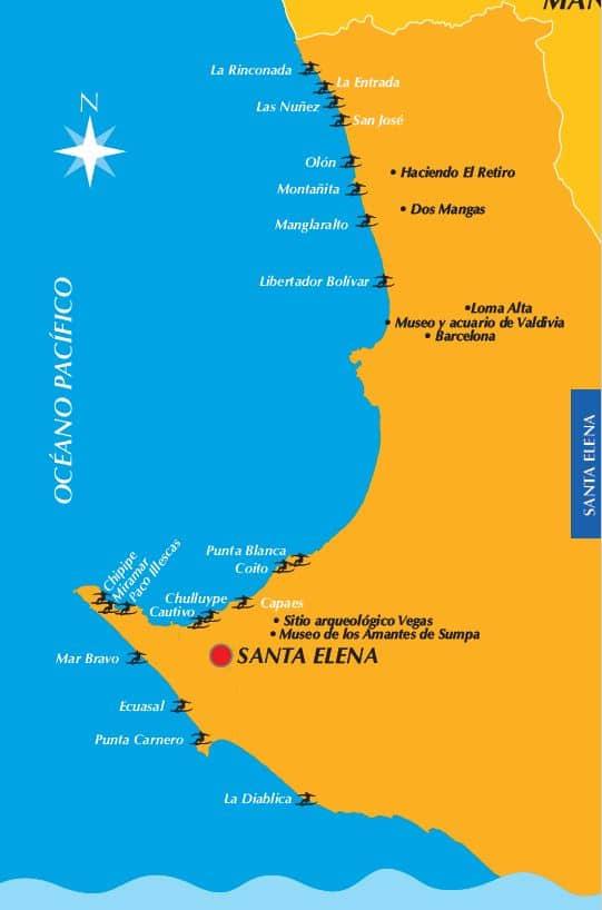 Ruta del Surf Santa Elena